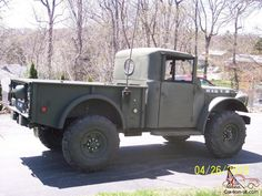 Dodge Power Wagon Military M37 Truck v8 Auto for sale