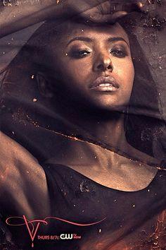 The Vampire Diaries, season 5 character poster Bonnie Bennett played by Katerina Graham Vampire Diaries Movie, Vampire Diaries Season 5, Vampire Diaries Wallpaper, Vampire Dairies, Vampire Diaries The Originals, Bonnie Bennett, Damon Salvatore, The Cw, Poster Art
