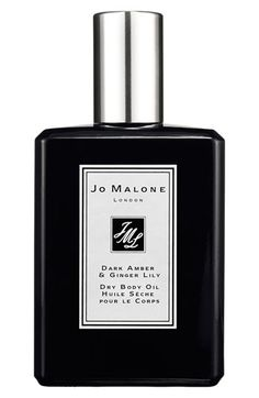 Jo Malone London Jo Malone™ Dark Amber & Ginger Lily Dry Body Oil available at #Nordstrom