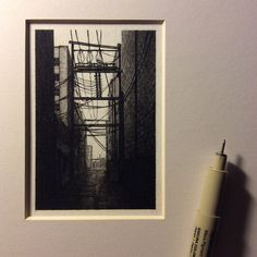 Inspirational Miniature Drawings Created by Taylor Mazer