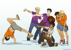 percy jackson myart annabeth chase jason grace Leo Valdez Piper McLean Hazel Levesque Frank Zhang Heroes of Olympus im gonna make this a poster i swear if you dont think percy is the kind of guy who uses flip flops you should think about this again Percy Jackson Fandom, Memes Percy Jackson, Percy Jackson Film, Percy Jackson Fan Art Funny, Percy Jackson Costume, Percy Jackson Drawings, Percy Jackson Annabeth Chase, Jason Grace, Piper And Jason