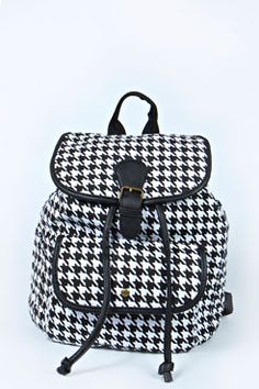 Lucia Dogtooth Rucksack