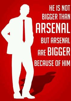 Arsene Wenger is Arsenal F.C
