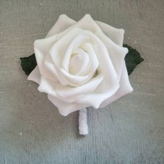 Check out this item in my Etsy shop https://www.etsy.com/listing/453514526/white-boutonieere-iridescent-boutonniere