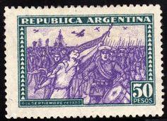 estampillas argentinas valiosas - Buscar con Google