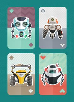 Robocards! by Artua Design http://cmnt.ca/Rbcards
