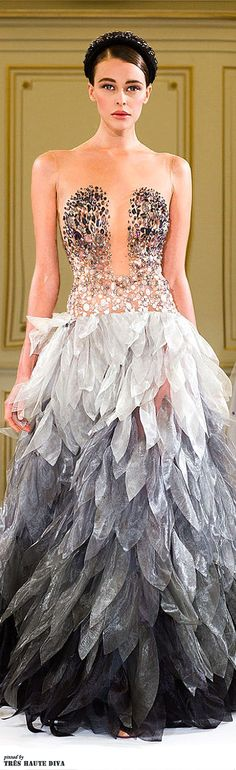 Yulia Yanina Spring/Summer 2014 Couture - this is sooo gorgeously beautiful I can't explain my love ❤️❤️: