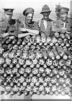 First World War Images: NZ Soldiers