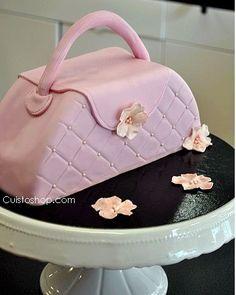 Gâteau sac à main printanier (étapes en image)