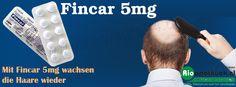 Fincar 5mg greift in den Hormonspiegel ein und ist ein 5-Alpha-Reduktase-Hemmer, der beschädigte oder entzündete Haarwurzeln wieder stärkt.