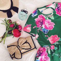 #dresscolorfully julia engel's weekend wear