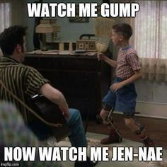 Gump style.