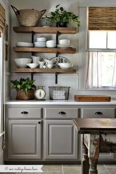 New Kitchen Decor themes Rustic Country Kitchen Ideas Rustic Country Kitchen Decorations Distinguish a Unified Best Kitchen Cabinets, Farmhouse Kitchen Cabinets, Painting Kitchen Cabinets, Kitchen Paint, Rustic Kitchen, Country Kitchen, New Kitchen, Kitchen Ideas, Farmhouse Kitchens