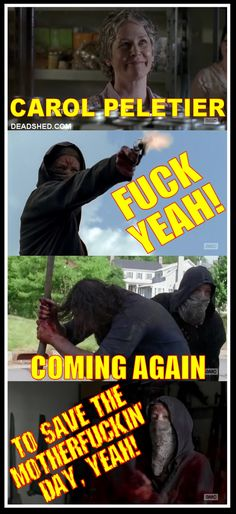DeadShed Productions: Haircut Edition: The Walking Dead 6x02 memes...