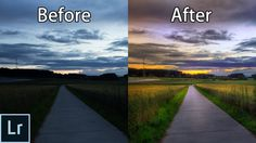 How to Turn a Boring Photo Into a STUNNING Picture With Lightroom! - Lig...