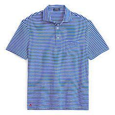 Striped Cotton Jersey Popover - Polo Ralph Lauren T-Shirts - Ralph Lauren Germany