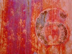 orange and rust.