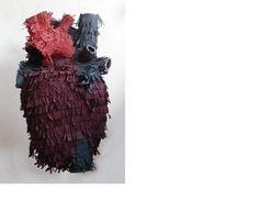 anatomical heart piñata!!!! <3