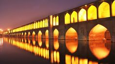 ISFAHAN, PONTE DI NOTTE ! #iran #anticapersia #isfahan #luci
