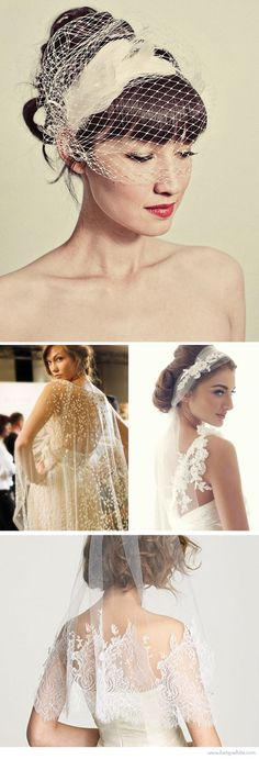 these veils are really gorgeous