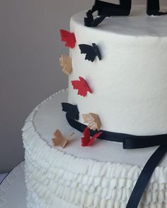 Fondant Butterfly Cake / CupCake Toppers