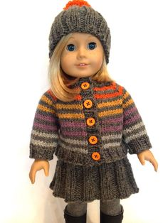"Huckleberry Friend, free knitting pattern for 18"" dolls"