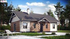 Z241 to wyjątkowy dom z kategorii projekty domów jednorodzinnych