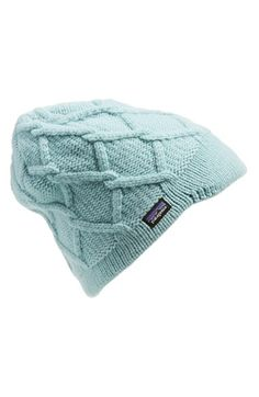 Patagonia  Vanilla  Beanie available at  Nordstrom Cable Knit Hat 78d730a2d9f0