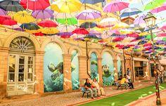 #agueda #streetart #europa #portugal #umbrellas #agitagueda