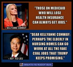 She has no compassion, and is without a soul. Big tax breaks for the rich, good; caring for those less fortunate, bad. The Trump regime philosophy in a nutshell.