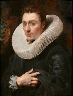 Retrato de joven por Rubens