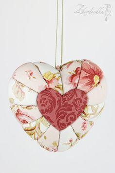 Heart Kimekomi Decoration Flowers - Valentine's Day Gift