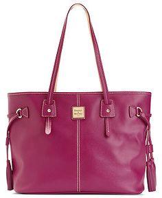 Dooney and Bourke Handbags, Wallets, Wristlets, Accessories - Macy's... magenta colored purse...love!