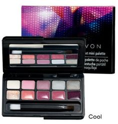 Avon Pocket Mini Palette Cool Colors >>> Check out this great image @