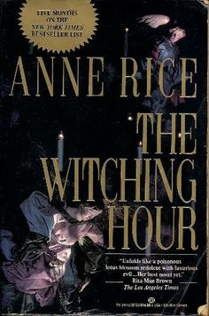Lovvvvvvvvvvvvvve this book. I read it years ago & then just finished it on my Kindle & what a great author Anne Rice is! One of my all time favs!