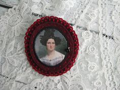 #inspirational #gift - delicate felt portrait brooch pin - mothers day gift  #jewellery #brooch Victorian Portraits, Mother Day Gifts, Brooch Pin, Mothers, Delicate, Felt, Trending Outfits, Unique Jewelry, Inspirational
