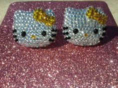 Pinterest Hello Kitty Earings