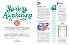 Baltimore magazine. April 2014. Illustrations by Lucy Davey.