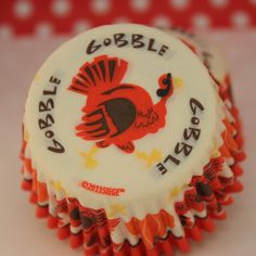 Thanksgiving Turkey Cupcake Liners