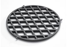 "Designed for use with the Gourmet BBQ System™ Cooking Grates. Create perfect sear marks every time with this porcelain-enameled cast-iron sear grate. The porcelain-enameled finish prevents sticking and allows for easy clean-up. Dimensions: 11.9"" L x 11.9"" W x 0.5"" H"