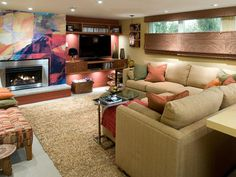 10 Basement Remodels and Renovations by Candice Olson : Rooms : HGTV