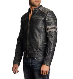 Fast Lane - Affliction Clothing - Mens Jackets - 4