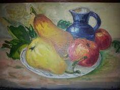 Image result for schilderij fruitschaal