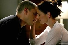 Michael and Sara from Prison Break