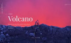 A Digital Volcano website