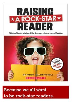 Loving this new book -- Raising a Rock-Star Reader! It should be on every parent's shelf!