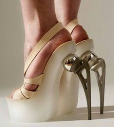 Only if you are in orthopedic surgeon, can you appreciate what these heels are…