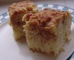 """Bisquick Coffee Cake Recipe - Food.com - the poster writes """"This bisquick coffee cake recipe is one of my favorites. It used to be on the back of the Bisquick box, but they replaced it a few years ago. I'm posting it here not only to share it, but as a backup in case I lose my recipe card :) """""""