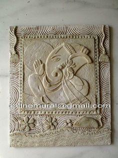 Mural Mural Wall Art, Mural Painting, Ganesha Art, Jai Ganesh, Madhubani Painting, Kalamkari Painting, Rajasthani Art, Spiritual Paintings, Clay Art Projects