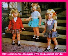 Chá de Bonecas com Gigi Fernandes: Estrela - Amiguinha Anos 70